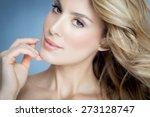 closeup of beautiful natural... | Shutterstock . vector #273128747