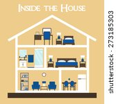 Inside The House. House Cross....