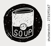soup doodle | Shutterstock .eps vector #273195167