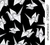 Seamless Pattern With Origami...