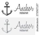 set of logo and logotype... | Shutterstock .eps vector #273507137