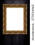 photo or painting frame on...   Shutterstock . vector #273514463