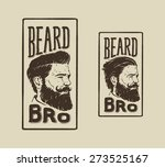 vintage hand drawn logo of... | Shutterstock .eps vector #273525167