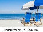 Sun Loungers And A Beach...