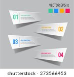 modern infographic design can... | Shutterstock .eps vector #273566453