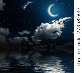 backgrounds night sky with... | Shutterstock . vector #273582647
