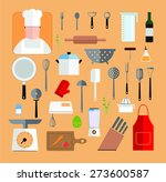 quality cook   cook and... | Shutterstock .eps vector #273600587