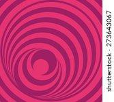 Pink Op Art Circles