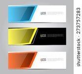 vector design banner background ... | Shutterstock .eps vector #273757283