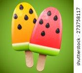 Watermelon Juicy Ice Cream ...