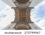 detail view of the arc de... | Shutterstock . vector #273799967