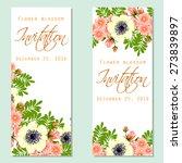 flower blossom. romantic... | Shutterstock .eps vector #273839897