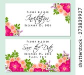 flower blossom. romantic... | Shutterstock .eps vector #273839927