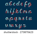 script font | Shutterstock .eps vector #273870623