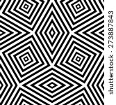 abstract geometric pattern by... | Shutterstock . vector #273887843