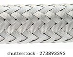 macro image of a metal wire... | Shutterstock . vector #273893393