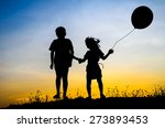 little brother and sister and... | Shutterstock . vector #273893453