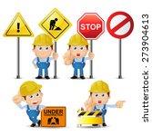 people set   profession   set... | Shutterstock .eps vector #273904613