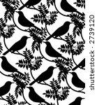bird silhouette | Shutterstock .eps vector #2739120