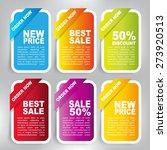 web sale banner | Shutterstock .eps vector #273920513