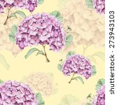 seamless pattern with beautiful ... | Shutterstock . vector #273943103