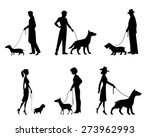 Vector Illustration Of A Peopl...