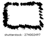 grunge border | Shutterstock .eps vector #274002497