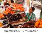 yangon  myanmar   february 24 ... | Shutterstock . vector #274036607