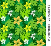 seamless pattern with... | Shutterstock .eps vector #274056953