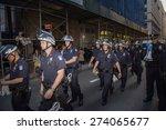 new york city   april 29 2015 ... | Shutterstock . vector #274065677