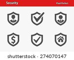 security icons. professional ... | Shutterstock .eps vector #274070147