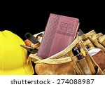 studio prop bible cover in... | Shutterstock . vector #274088987