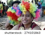 Small photo of MANILA APRIL 25: Contingent in The Aliwan Fiesta on April 25, 2015 in Manila, Philippines. Aliwan celebrated with cultural presentation & street dance competition.