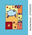 aries horoscope sign | Shutterstock .eps vector #27410233