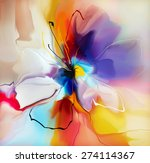 Abstract Blue Violet Creative...