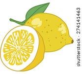 fruit vector icon | Shutterstock .eps vector #274141463