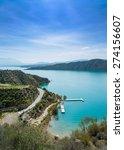 lake negratin sierra de baza ... | Shutterstock . vector #274156607