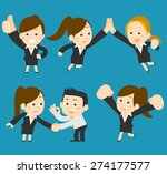 vector illustration  ... | Shutterstock .eps vector #274177577