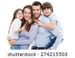 happy family   Shutterstock . vector #274215503