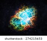 Crab Nebula   Elements Of This...
