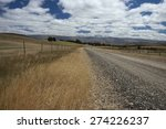 Deserted Road In Central Otago