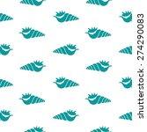 seamless pattern of fine sea...   Shutterstock .eps vector #274290083