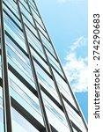 exterior of a modern building... | Shutterstock . vector #274290683