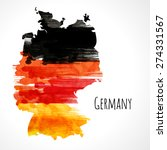 template background. german... | Shutterstock .eps vector #274331567