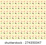 sweet orange  pink  green and... | Shutterstock .eps vector #274350347