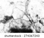 grunge halftone vector... | Shutterstock .eps vector #274367243