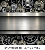 background metallic with... | Shutterstock .eps vector #274387463