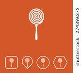 lollipop icon on flat ui colors ...
