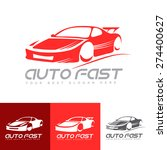 vector logo template of... | Shutterstock .eps vector #274400627