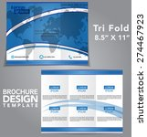 tri fold brochure vector design | Shutterstock .eps vector #274467923